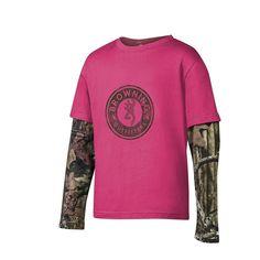 Men/'s Browning Fanning Shirt S  XL Black Long Sleeve