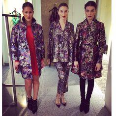 Alize fashion show backstage