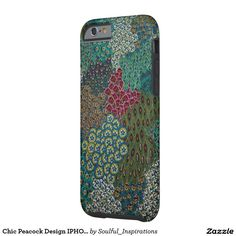 Chic Peacock Design IPHONE 6/6S Case Tough iPhone 6 Case