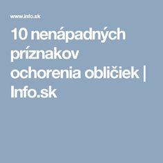 10 nenápadných príznakov ochorenia obličiek   Info.sk