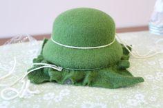 How to make doll felt hats