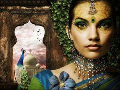 Сказочная принцесса в Фотошоп