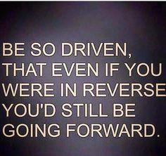 You're in reverse, in reverse, in reverse!