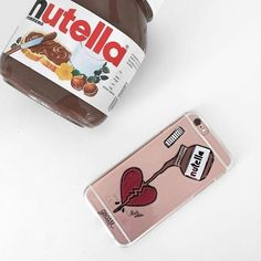 Tag a friend who is addicted to NUTELLA[OUR CASES ARE FOR ALL IPHONES GALAXY…