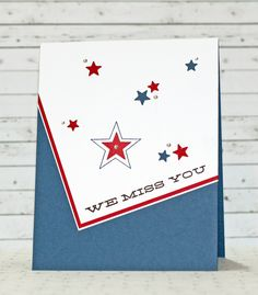 OWH Memorial Day Blog Hop Card by Stephanie Klauck for the Simon Says Stamp Blog.  May 2014