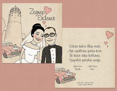 Zeynep ve Erdener'e özel olarak tasarladığımız davetiyemiz. #bentekim #bentekimdavetiye #davetiye #dugundavetiyesi #kisiyeozeldavetiye #ozeltasarimdavetiye #invitation #weddinginvitation #personalizedweddinginvitation #invitationdesign
