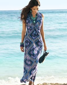 Modern Texture – Maxi Dress #chicos #chicossweeps