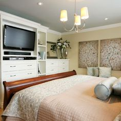 Bedroom Tv Above Fireplace Design, (pictures)
