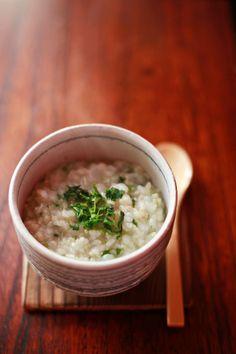 Japanese rice porridge, Okayu