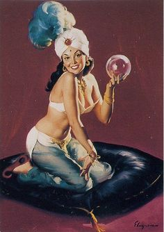 Gil Elvgren - Happy Medium