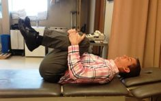 Physical Therapy Exercise Program after Lumbar Laminectomy and Discectomy: Supine Lumbar Flexion