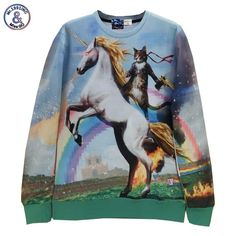 Good price Mr.1991INC Animals sweatshirts 3d fashion men/women cartoon hoodies funny print riding horse cat holding gun 3d hoodies just only $14.28 with free shipping worldwide  #hoodiessweatshirtsformen Plese click on picture to see our special price for you