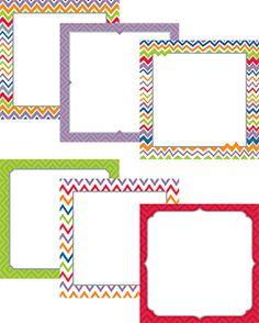 Creative Teaching Press - Chevron Jumbo Designer Cut-Outs Classroom Decor Themes, School Decorations, Classroom Organization, Chevron Classroom, Chevron Borders, Birthday Bulletin Boards, Center Labels, Creative Teaching Press, Binder Covers