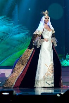 Miss Spain - National costume show during the 63rd annual Miss Universe Competition in Miami