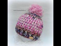 Háčkovaný kulíšek Joyfull Crochet beanie Joyfull - YouTube