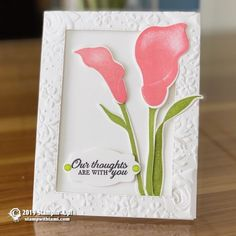 trendy birthday crafts to make stampin up Birthday Crafts, Birthday Wishes, Happy Birthday, Stampin Up Catalog, Sympathy Cards, Greeting Cards, Card Tutorials, Stamping Up, Flower Cards