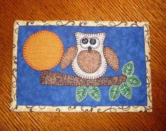 Mug rug / mini quilt pattern