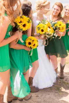 Beautiful country, bride and groom portraits, sunflower boutique by Fresno Wedding Photographer TréCreative trecreative.com/