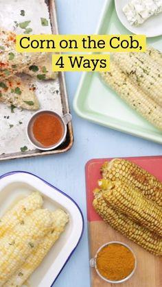 Corn Recipes, Vegetable Recipes, Mexican Food Recipes, Grilling Recipes, Cooking Recipes, Healthy Recipes, Keto Recipes, Good Food, Yummy Food