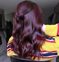 Violet Hair Colors, Hair Color Purple, Hair Dye Colors, Cool Hair Color, Plum Color, Deep Violet Hair, Aubergine Hair Color, Wine Red Hair Color, Dark Burgundy Hair Color