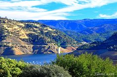 Oroville, CA - Lake view