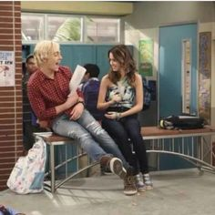 Awww Auslly!! They belong together!!