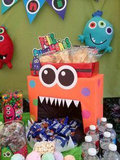 Candy bar monstruos