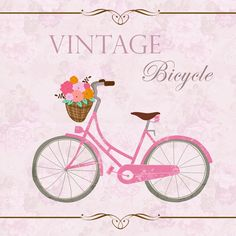 INSTANT DOWNLOAD  Vintage Bicycle   Clip art plus by urbanwillow, $3.40