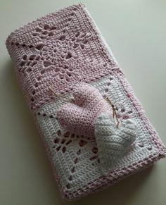 KukkuPöö: Prinsessapeitto Crochet Home, Knit Crochet, Home Deco, Needlepoint, Shabby Chic, Blanket, Knitting, Diy, Handmade