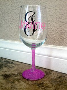 How To Make Personalized Wine Glasses Using Vinyl Outdoor Vinyl - Custom vinyl decals for wine glasses