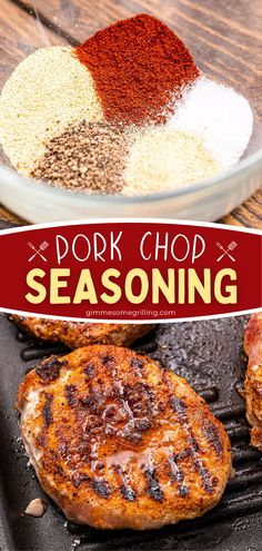 Grilling Ideas, Summer Grilling Recipes, Summer Recipes, Easy Meals For Two, Easy Family Meals, Quick Easy Meals, Easy Homemade Recipes, Easy Dinner Recipes, Pork Chop Seasoning
