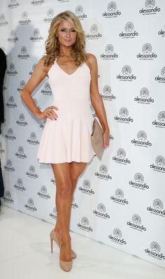 Paris Hilton Photos - Paris Hilton Attends the Beauty International Fair - Zimbio