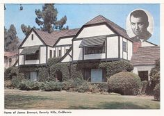 James Stewart's home, Beverly Hills, California