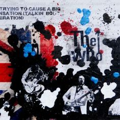Why don't you all f-f-f fade away… My tribute to The Who, mod legends.  Acrylic on canvas, SOLD.  Prints available in A2 size (42cm x 59cm).  #mod #thewho #rogerdaltrey #petetownshend #quadrophenia #art #print #popart #wearethemods #ktf