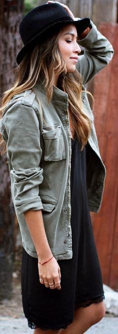 Jacket: Anine Bing | Hat: Rag&Bone | Dress: Zara