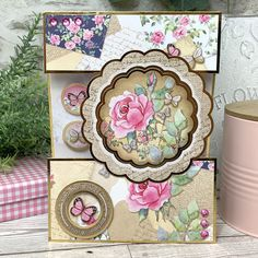 Cards and projects from our Forever Florals Rose collection featuring radiant rose imagery throughout. Birthday Cards, Happy Birthday, Hunkydory Crafts, Stamping Up Cards, Love Rose, Card Making Inspiration, Love Symbols, Cardmaking, Decorative Boxes