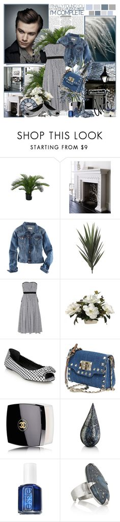 """Chic- Chris Colfer..."" by purplecherryblossom ❤ liked on Polyvore featuring Nicki Minaj, Neiman Marcus, H&M, PLANT, LUISA BECCARIA, Red Herring, Bella Vita, Valentino, Chanel and La Prairie"