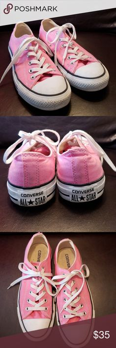 7625855c455 Shop Women s converse all star Pink size 8 Sneakers at a discounted price  at Poshmark.