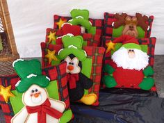 COJINES Gingerbread Cookies, Christmas Stockings, Diy And Crafts, Xmas, Quilts, Ornaments, Corner, Sewing, Winter