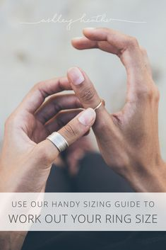 Need to know how to measure your ring size in a simple, no-fuss way? Keep reading for the trick you can use to measure your ring size accurately at home.