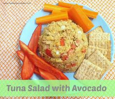 Tuna Salad with Avocado recipe from @Matty Chuah Lean Green Bean