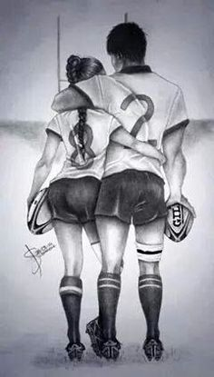 Rugby Love Made by: - Soccer Photos Rugby League, Rugby Players, Rugby Time, Rugby Quotes, Rugby Girls, Softball, Womens Rugby, Welsh Rugby, Rugby Sport