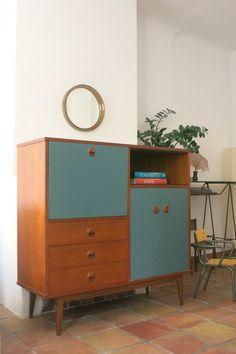 50s Furniture, Classic Furniture, Mid Century Modern Furniture, Upcycled Furniture, Home Decor Furniture, Furniture Makeover, Painted Furniture, Furniture Design, Mid-century Interior