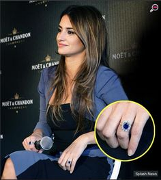 Fashion Mania: Celebrity Engagement Rings