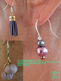 Purple Dye, Gold Plated Rings, Leather Tassel, Organza Bags, Different Styles, Norway, Jewelery, Steampunk, Handmade Jewelry