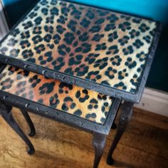 ..OH.... EM GEEEEEEEEEE, YES, PLEEEASE. now I wanna paint leopard print on our coffee table. Omgz! This is pure beauty