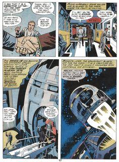 Jack Kirby - 2001: A Space Odyssey #JackKirby #SpaceOdyssey #Marvel