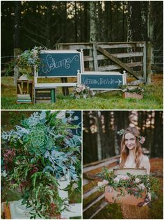 Whimsical winter styled shoot- Welcome Sign www.meanttobe.co.nz