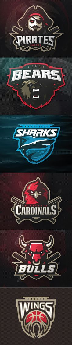 Sport Logo Compilation design by: zerographics