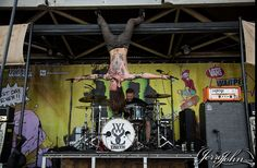 While she sleeps at Warped tour